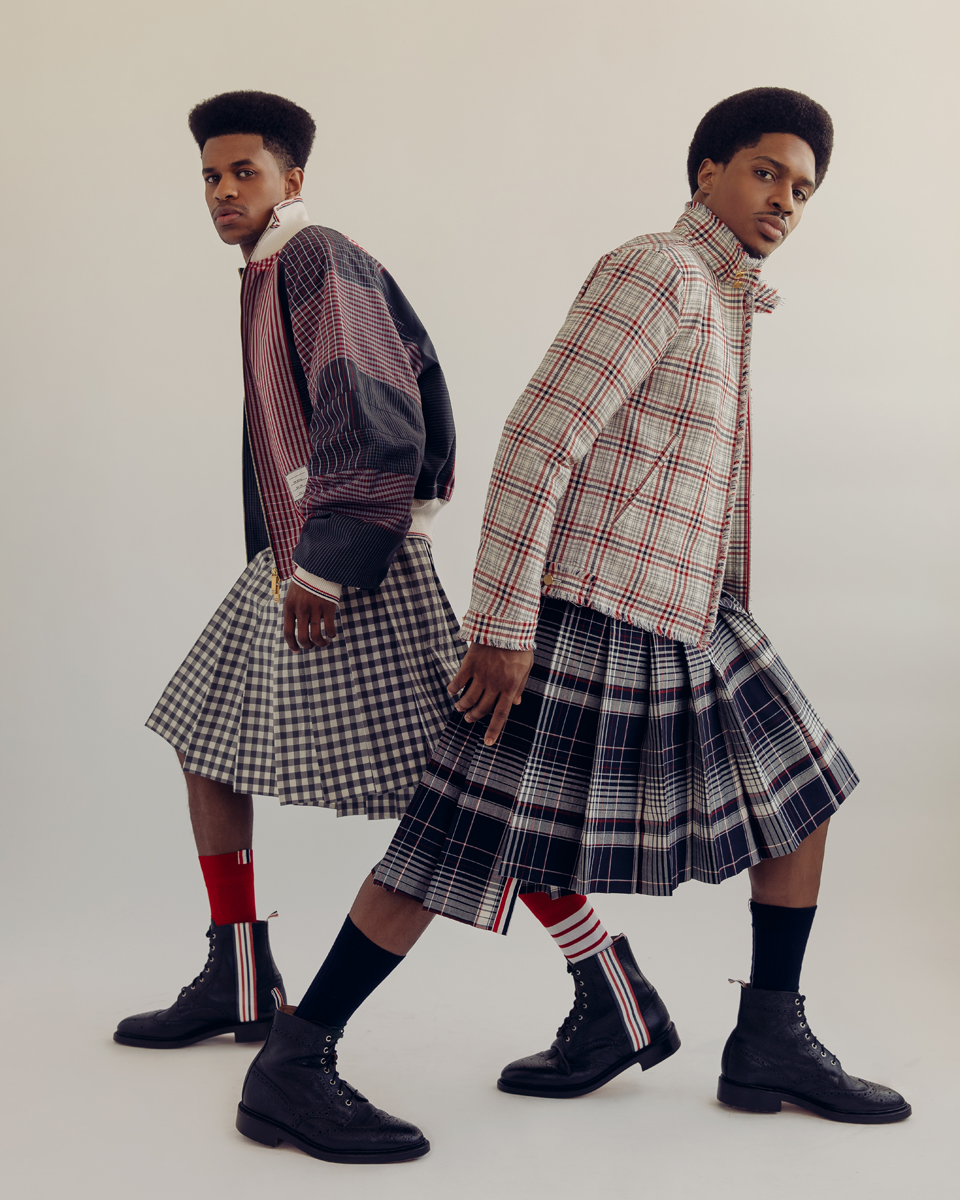 Jeremy Pope & Ephraim Sykes for VMAN