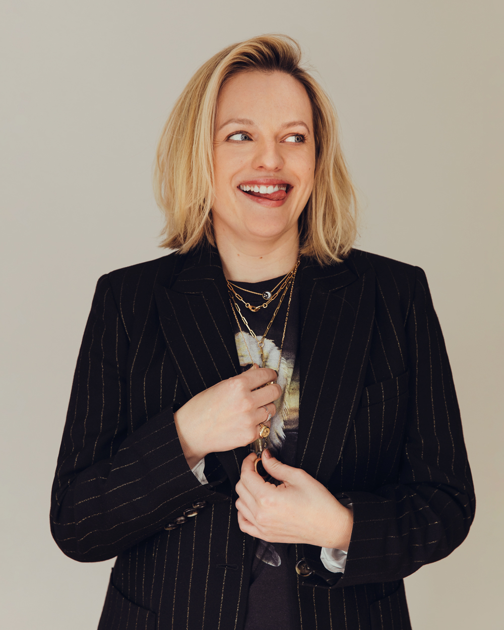 Elisabeth Moss for Bustle
